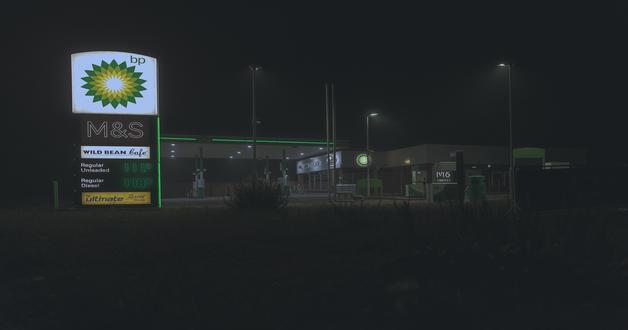 BP petrol station UK