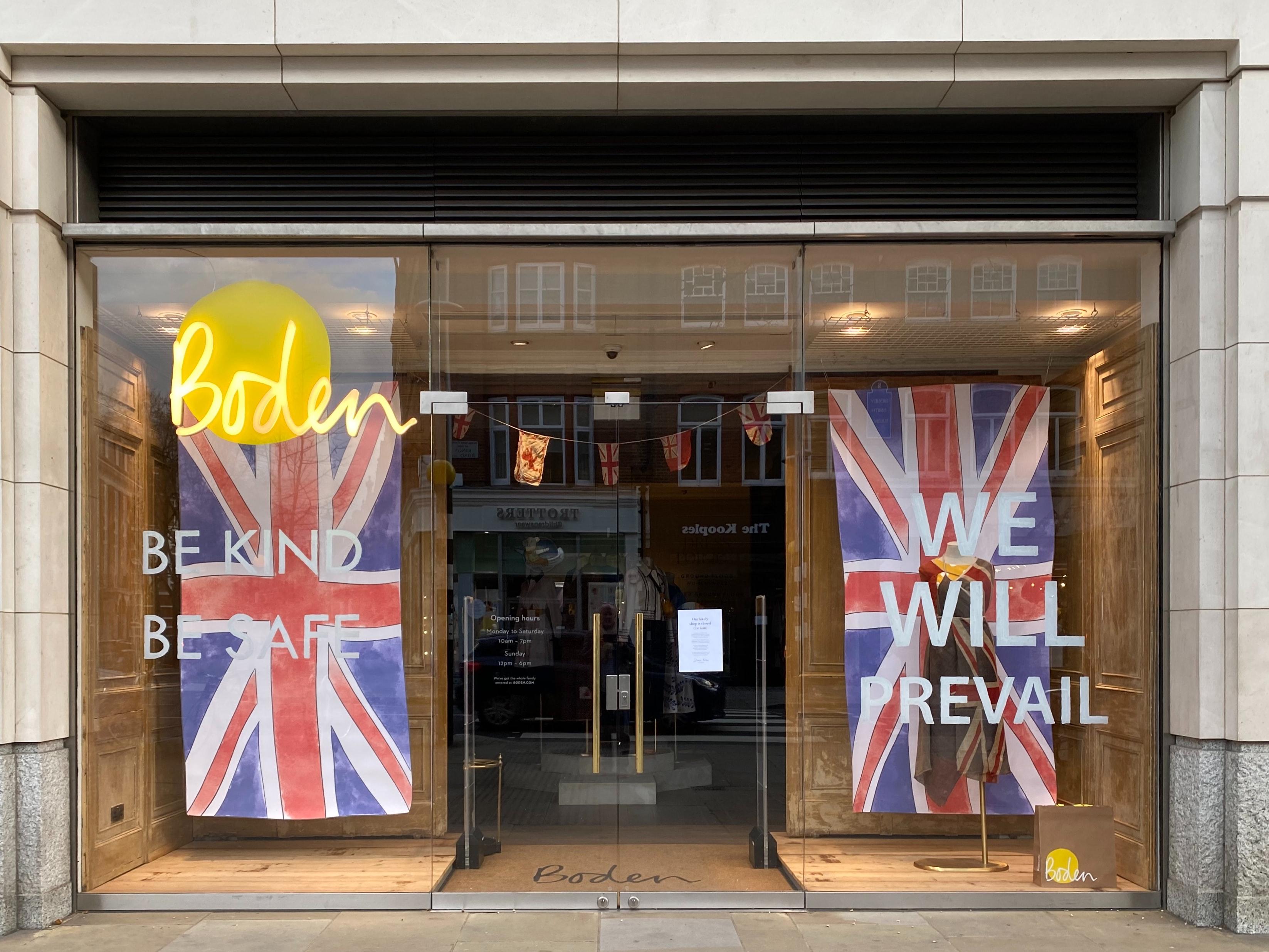 Strength among British retailers